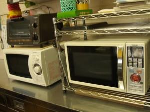 厨房 オーブンレンジ、電子レンジ、トースター