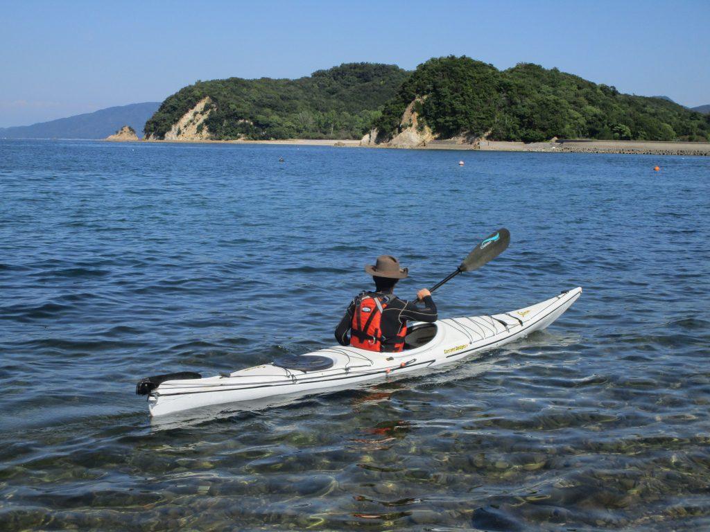 瀬戸内海でシーカヤック体験